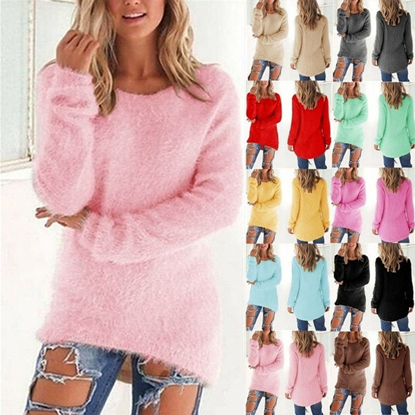 Plus Size, knitted sweater, Sleeve, Long Sleeve