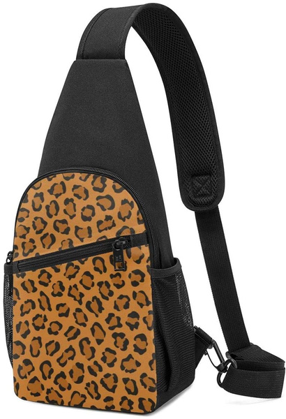lightweightshoulderbackpack, Hiking, leopard print, Leopard