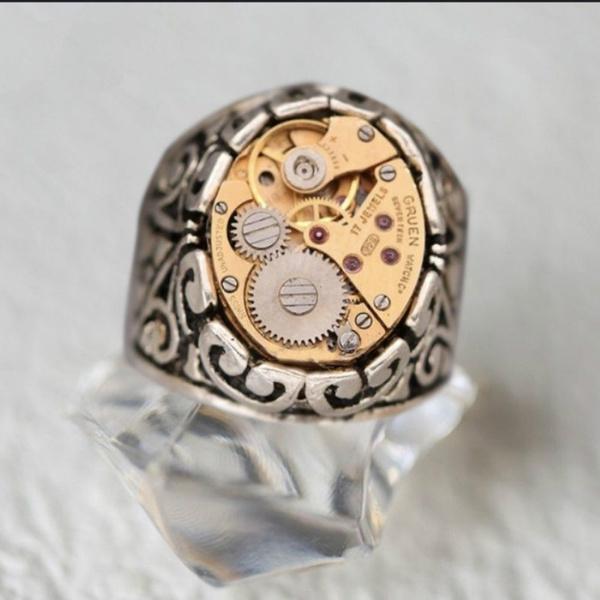 hip hop jewelry, gold, Watch, Fashion