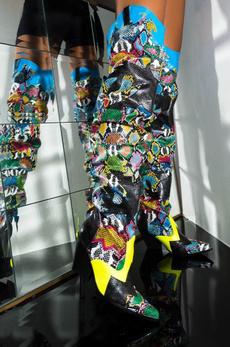 caperobbin, Boots, Women's Fashion, multicoloured