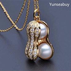 Jewelry, gold, 18 k, silver