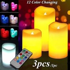 decorationcandle, Remote, Christmas, candlelight