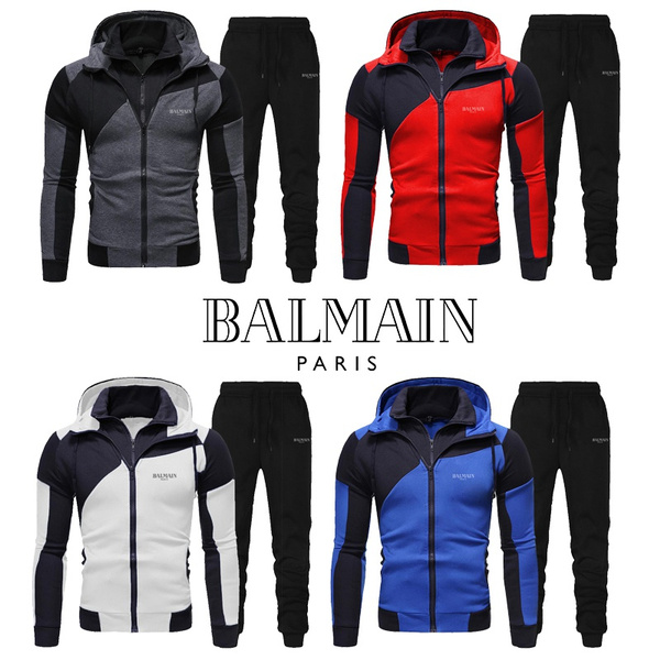 Zipper Mens Hoodies, Two-Piece Suits, Winter, pullover sweater
