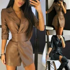 party, leather dress, Fashion, short dress