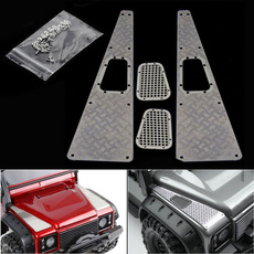 intakegrille, traxxasgrille, protectorplate, carhooddecoration