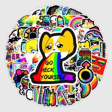 Car Sticker, suitcasesticker, Tablets, rainbow