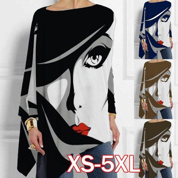 blouse, Cotton, Plus Size, Tops & Blouses
