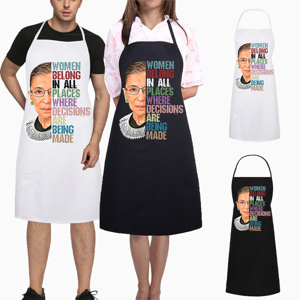 kitchenapron, apron, ruthbaderginsburg, womenapron