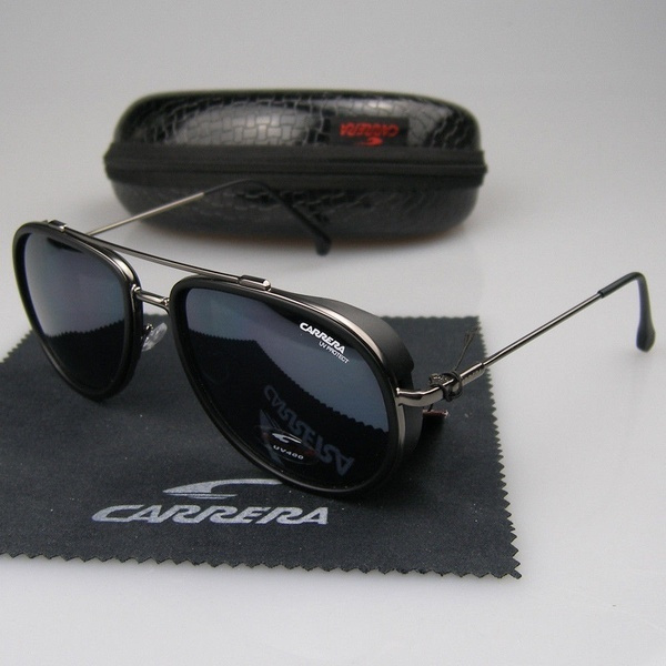 Box, Aviator Sunglasses, Fashion, Metal