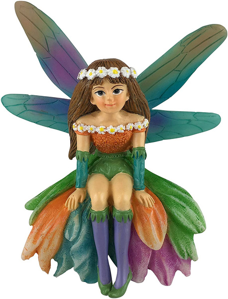 gardenfairiesfigurine, Garden, daisy, fairygardenminiature