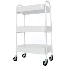 Storage & Organization, Bathroom, cartwithwheel, utilitycartwhite
