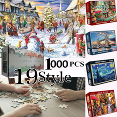 Toy, Christmas, Gifts, Jigsaw Puzzle