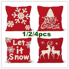 christmaspillowcase, case, decorationsforlivingroom, Christmas