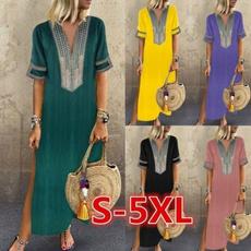 long skirt, paisley, Fashion, Sleeve