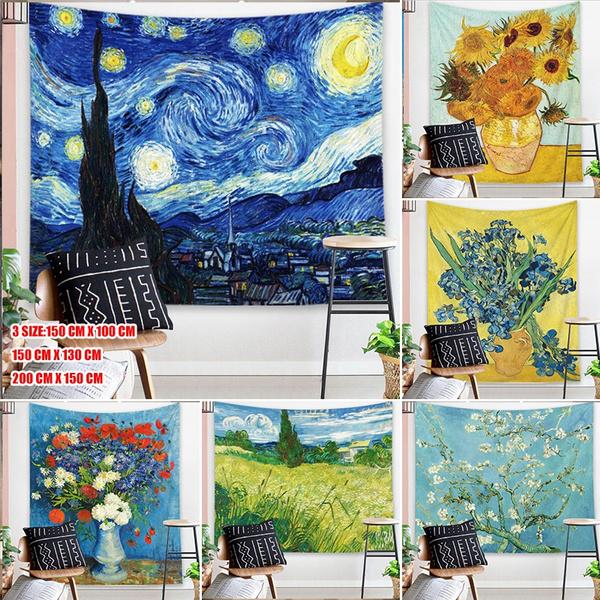 Vans, mandalatapestry, Sunflowers, Blanket
