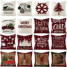 christmaspillowcase, merrychristmasgift, Home Decor, sofahomedecor