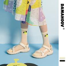 Summer, Sandals, mediumtube, Socks