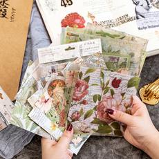 Antique, Plants, Scrapbooking, makingjournaling