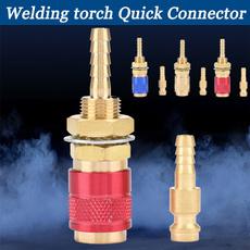 Brass, weldingsupplie, connectorfitting, weldingtorchquickconnector