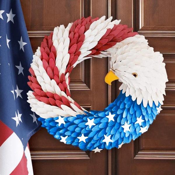 americaneaglewreath, americanvotedecor, Garland, electionvotepresident