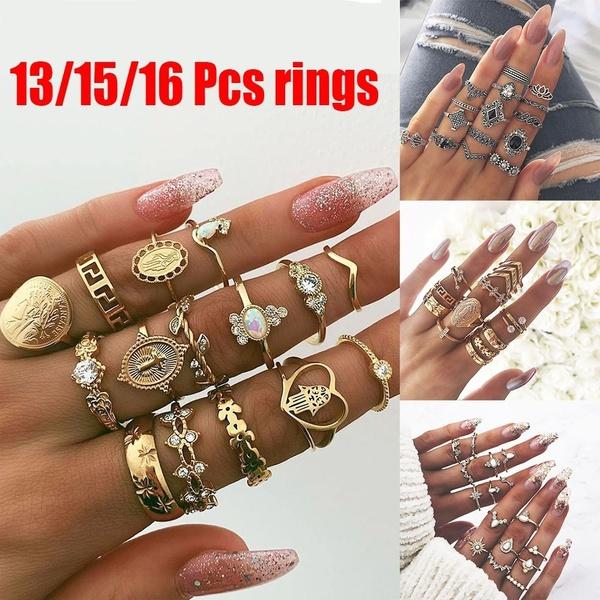 crystal ring, Women Ring, crownring, rhinestonering