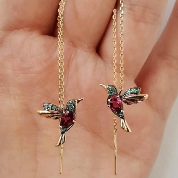 Sterling, DIAMOND, gold stud earrings for women, Stud