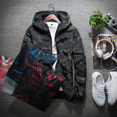 hooded, Long sleeved, Slim Fit, Hip Hop