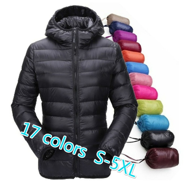 casual coat, Down Jacket, hooded, Winter