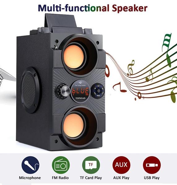 subwooferboombox, Outdoor, Wireless Speakers, portable