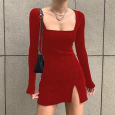 pencil, Collar, clothesautumn, short dress