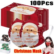 cartoonmask, Christmas, Elastic, Colorful
