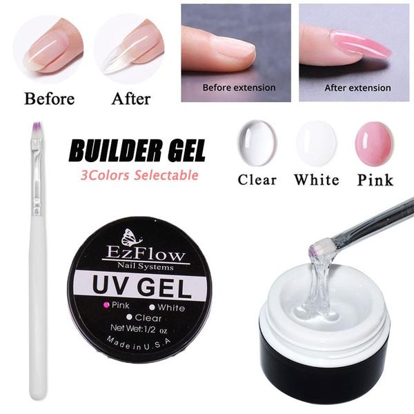 pink, nailbuilder, art, uvbuildergel