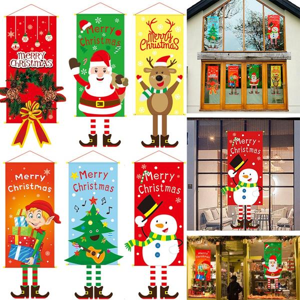 Decor, Door, Christmas, Family