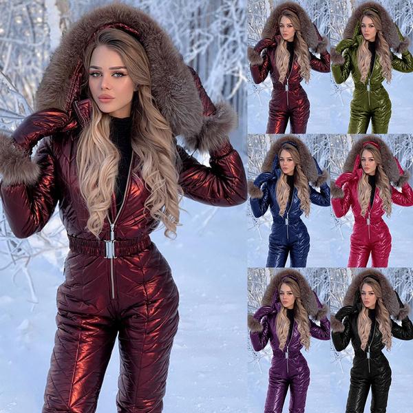 fur coat, Outdoor, Suits, Women's Fashion