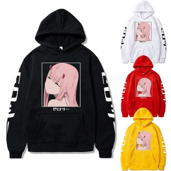 waifu, Winter, hoodies for women, darlinginthefranxxhoodie