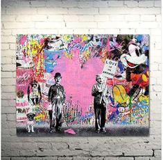 pink, metalsign, art, Home Decor