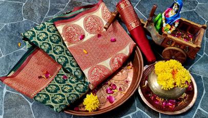 Beautiful, saree, silksaree, party