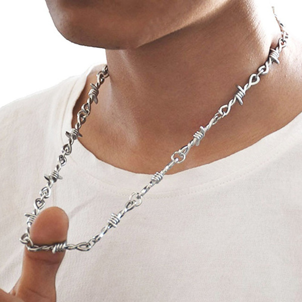 Chain Necklace, punk style, Jewelry, Chain