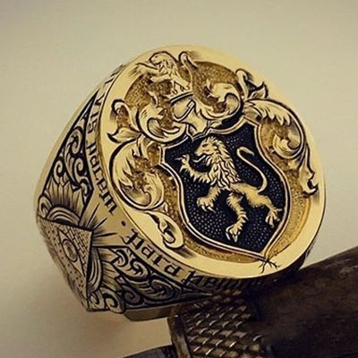 lionring, ringsformen, Unique, Fashion