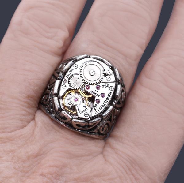 silverring925vintage, Men, casting, Jewelry