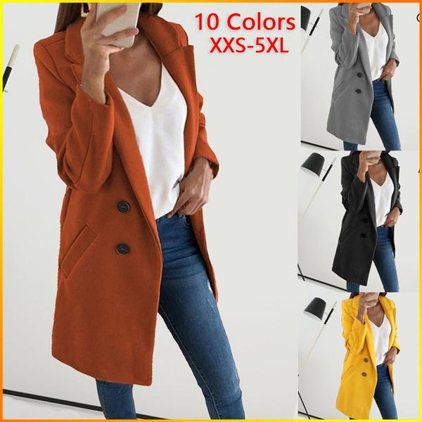 woolen coat, Plus Size, Winter, coatsampjacket