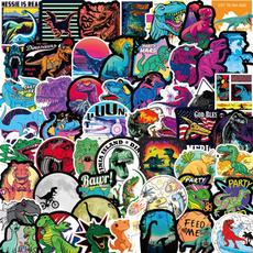 Car Sticker, Dinosaur, suitcasesticker, Luggage