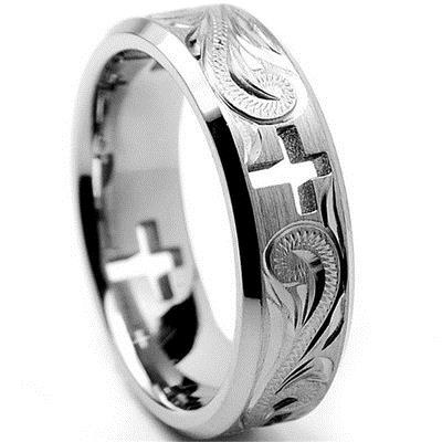 Steel, goldplated, Engagement, Jewelry