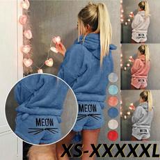 women's pajamas, hooded, Winter, sexy pajamas