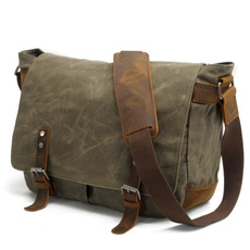 Shoulder Bags, School, Bags, leather