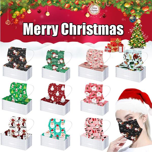 childrenmask, unisex, printedmask, christmasmask