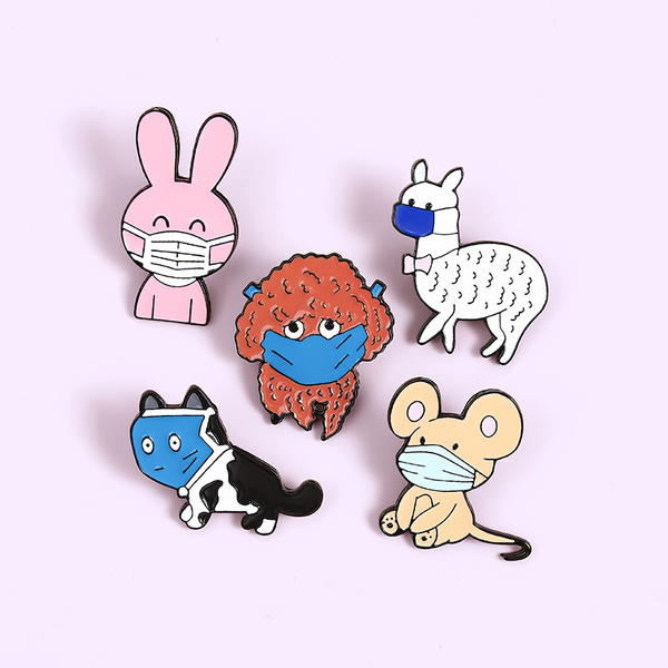 Funny, rabbit, Jewelry, alpacapin