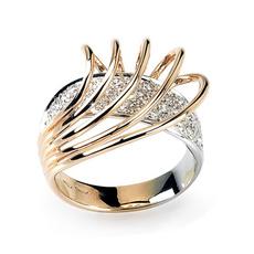 18 k, DIAMOND, Italy, wedding ring