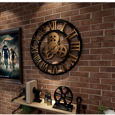 chicwallclock, walldecorationclock, Clock, Metal