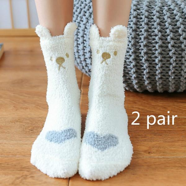 woolwintersock, Cotton Socks, thicksock, fluffy